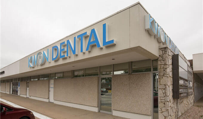 exterior view of Kwon Dental in  Dallas